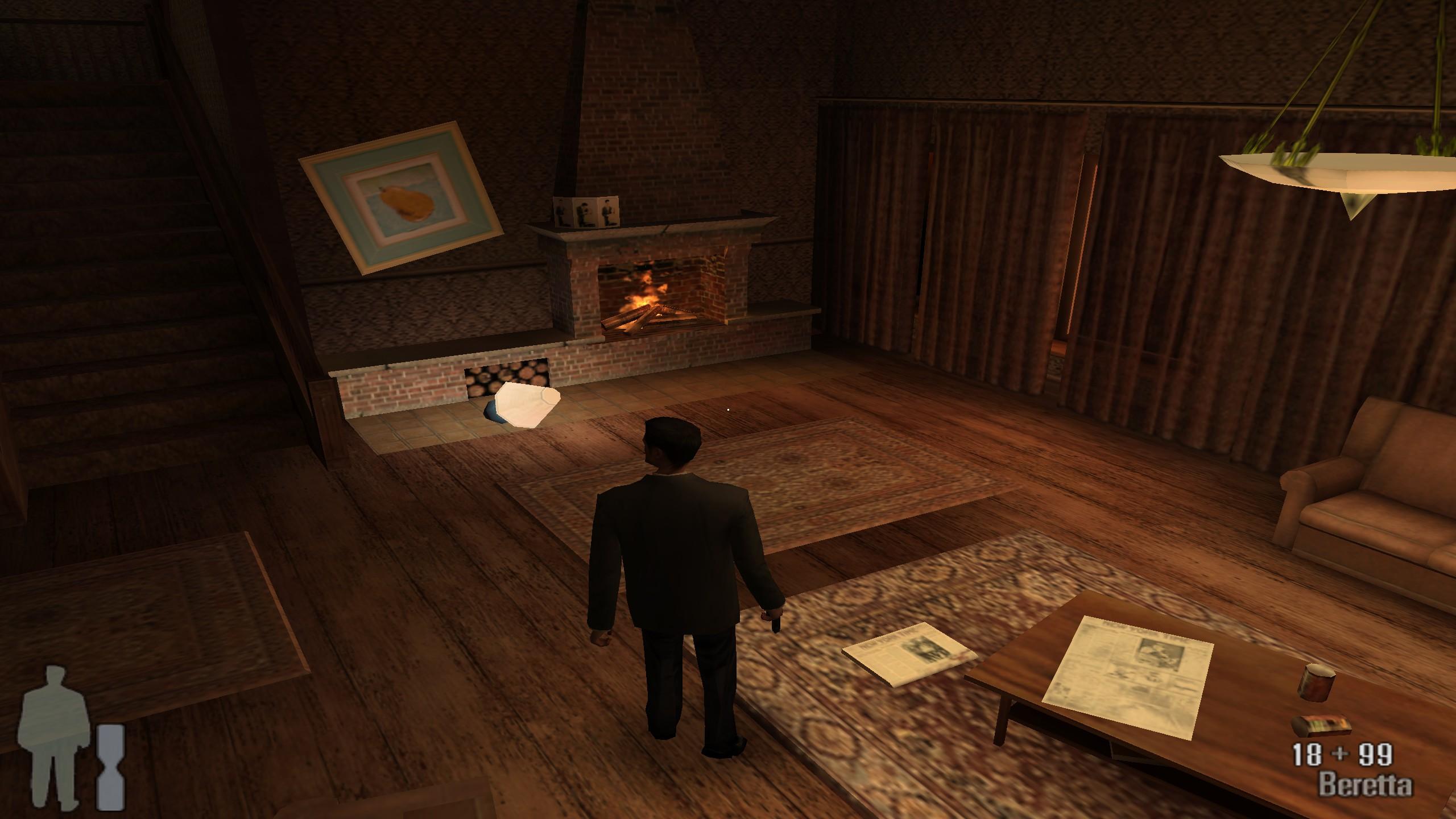 snímka obrazovky, Max Payne