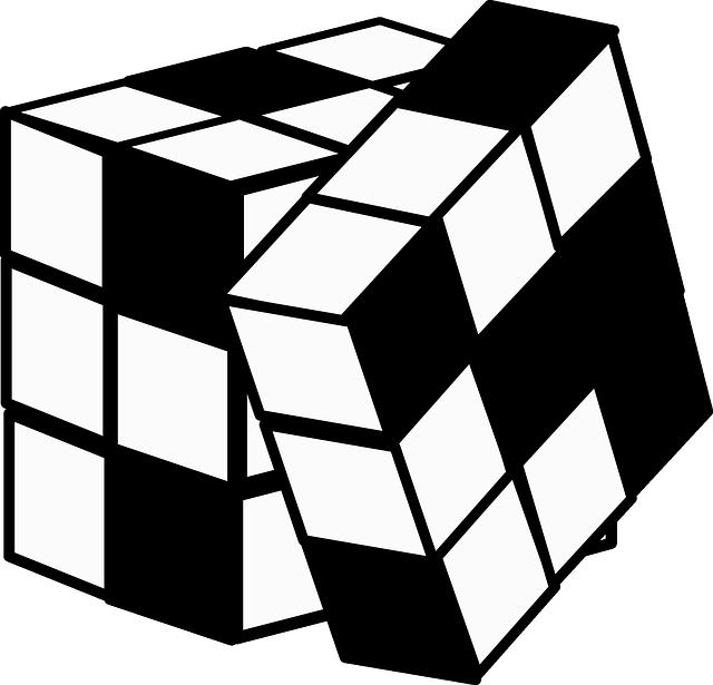 rubikova kocka; priklad