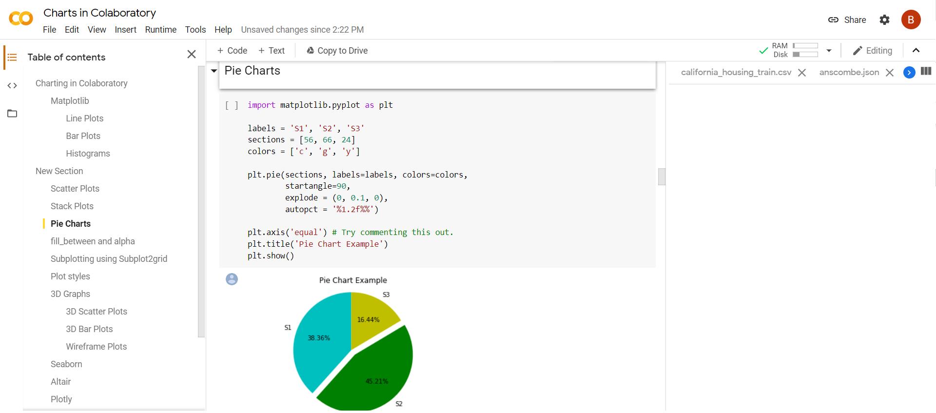 Google Colaboratory Colab programming