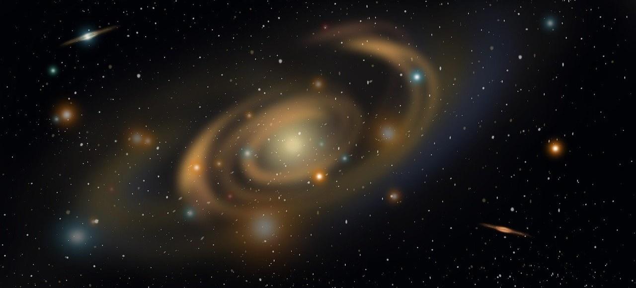 umela inteligencia vo vesmire, galaxia