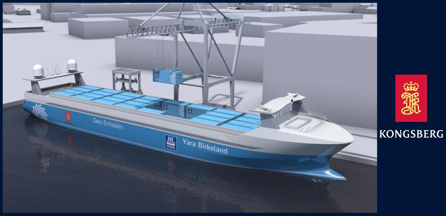 YARA autonomna lod autonomous ship