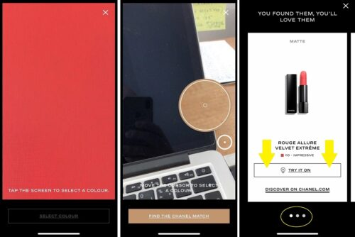 Chanel AI aplikacia